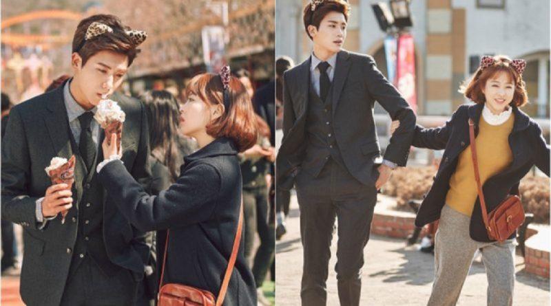 Cô nàng Strong Woman Do Bong Soon (Park Bo Young) và giám đốc Ahn Min Hyuk (Park Hyung Sik) cực có cuộc hẹn hò đáng yêu ở công viên giải trí.