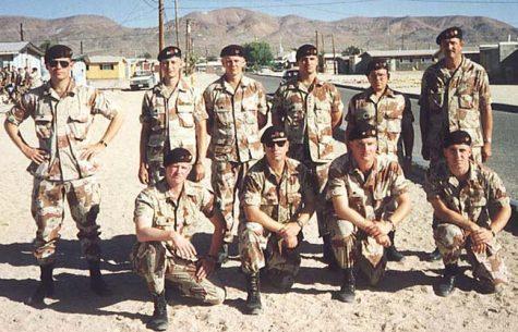 Quân đội Mỹ mặc đồng phục. (Ảnh: Combat Reform Group)