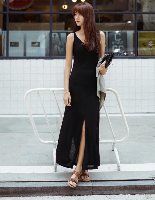 Váy xẻ tà