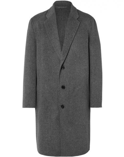 chiếc áo Charles Wool and Cashmere Overcoat với giá 1.150 $