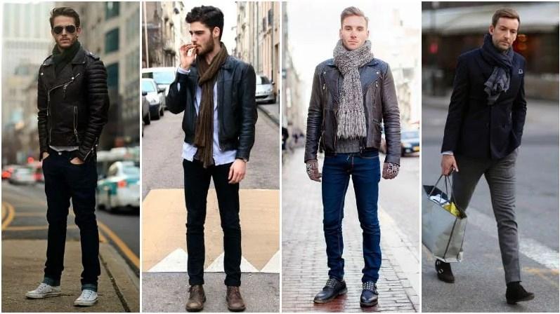 Cách này không chỉ rất hiệu quả trong việc rút ngắn chiều dài của những chiếc khăn quá khổ mà cò mang lại vẻ nghiêm túc và thanh lịch. Ảnh: Pinterest.
