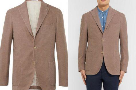 Áo blazer của Boglioli. Ảnh: Mr. Porter