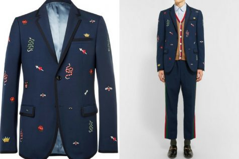 Áo khoác của Gucci. Ảnh: Mr. Porter