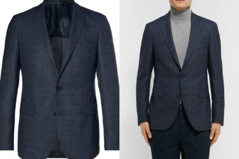 Áo khoác Blazer của Hugo Boss. Ảnh: Mr. Porter