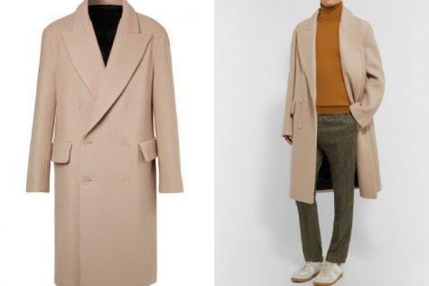 Áo khoác overcoat của Acne Studios. Ảnh: Mr. Porter