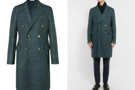 Áo khoác overcoat của Boglioli. Ảnh: Mr. Porter