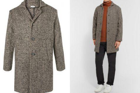 Áo khoác overcoat của Eidos. Ảnh: Mr. Porter