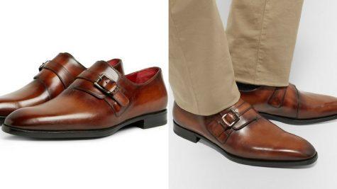 Giày Monkstrap của Berluti. Ảnh: Mr. Porter.