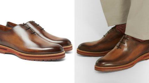 Giày Oxford của Berluti. Ảnh: Mr. Porter.