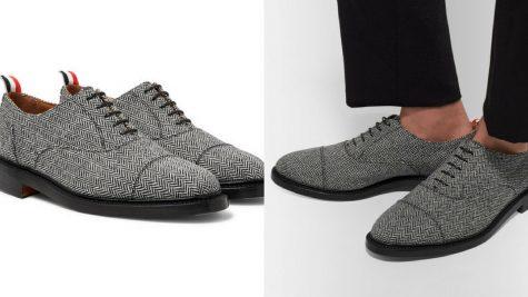 Giày Oxford của Thom Browne. Ảnh: Mr. Porter.
