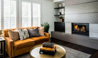 Không gian với những gam màu ấm của nội thất sẽ khiến cho căn phòng trở nên ấm áp.