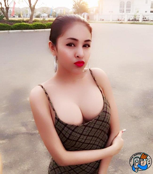 Vẻ gợi cảm của con gái Campuchia.