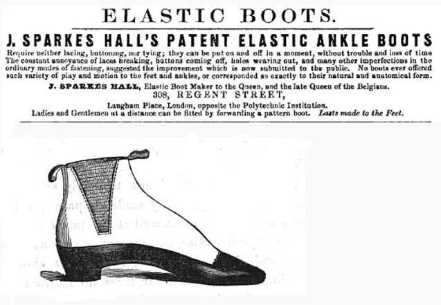 Thiết kế nguyên thủy của giày Chelsea Boots. Ảnh: gentlemansgazette.com