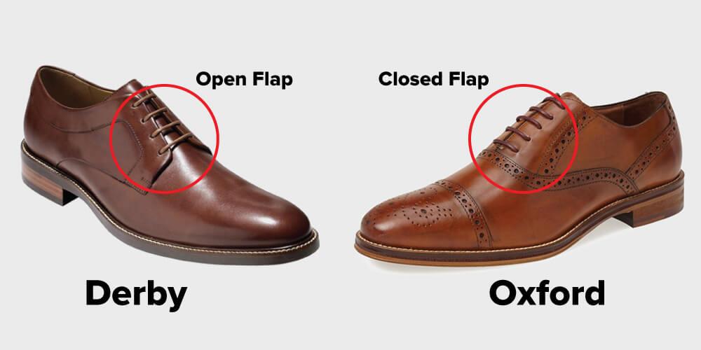 Sự khác biệt dễ nhận biết nhất giữa Derby và Oxford.