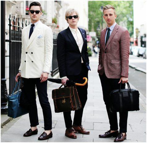 Lịch lãm với suits