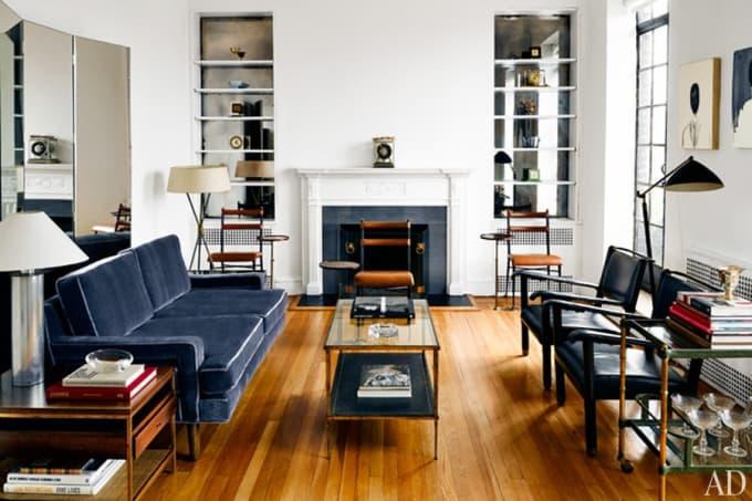Khu vực phòng khách. Ảnh: complex.com