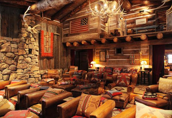 Phòng chiếu phim của trang trại RR. Ảnh: oprah.com