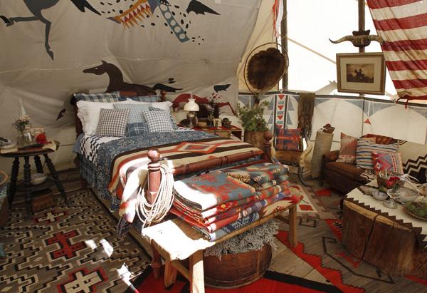 Những túp lều dành cho khách lưu trú. Ảnh: oprah.com