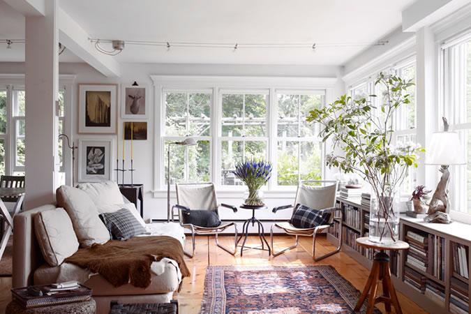 Thiết kế hiện đại và đầy tính thẩm mỹ bên trong ngôi nhà. Ảnh: fashionbeans.com