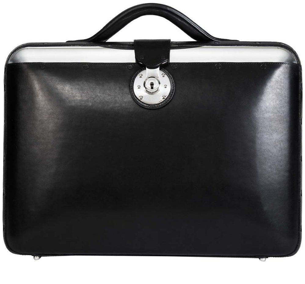 No. 25 briefcase, giá tham khảo: 2,850USD. Ảnh: passavantandlee.com