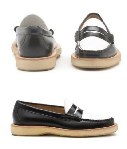 Mẫu giày G.H.Bass&Co. Larson crepe Weejuns có giá 110 USD (~2,5 triệu VND)
