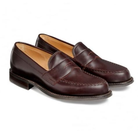 Mẫu giày Cheaney Howard R Loafer in burfundy coaching calf Leather có mức giá 292 Bảng Anh (~6,6 triệu VND)