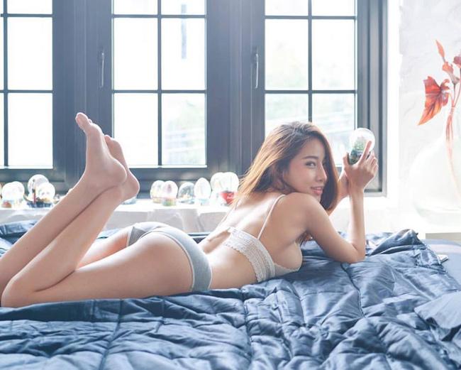 Vẻ đẹp quyến rũ đến nghẹt thở của hot girl Thái Lan.