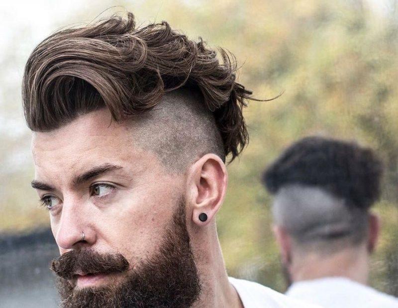 Cực ngầu với kiểu tóc Wavy Undercut này