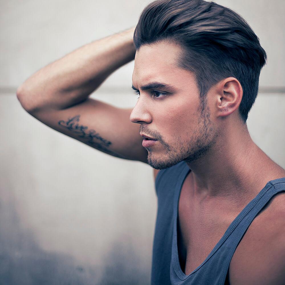Đây là kiểu tóc dành cho những anh chàng ưa thích vẻ ngoài lịch lãm