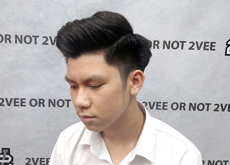 Kiểu tóc này không chỉ dành riêng cho nam giới Châu Âu, mà là cả nam giới Châu Á