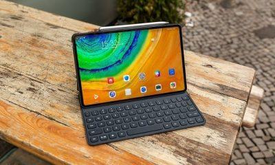MatePad Pro trang bị màn hình đục lỗ 10 inch với viền mỏng hơn đáng kể so với iPad Pro. Ảnh: Android Pit.