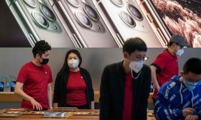 Virus corona bào mòn cả ngành hàng điện tử Trung Quốc và thế giới - Ảnh 1.