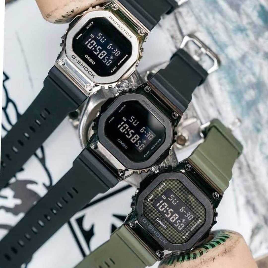 Dong ho G-Shock kim loai duoc long gioi tre Viet hinh anh 1 GM_5600_3.jpg