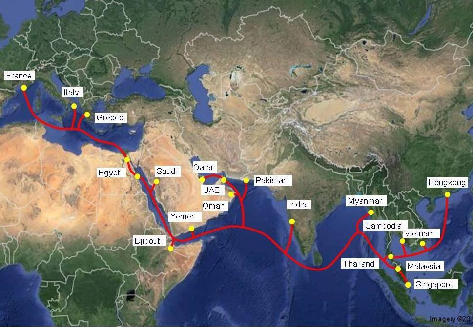 Hai tuyến cáp IA, AAE-1 lùi lịch sửa, Internet Việt Nam chưa khắc phục 100% - 1