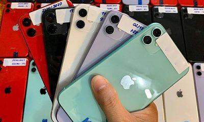 iPhone cũ tăng giá vì nguồn hàng bị ảnh hưởng bởi dịch viêm phổi do virus corona. Ảnh: Nguyễn Lâm