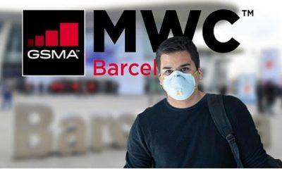 GSMA, đơn vị tổ chức MWC, khuyến khích chính sách không bắt tay và phát miễn phí khẩu trang trong suốt MWC2020. Ảnh: Entertainment Box.