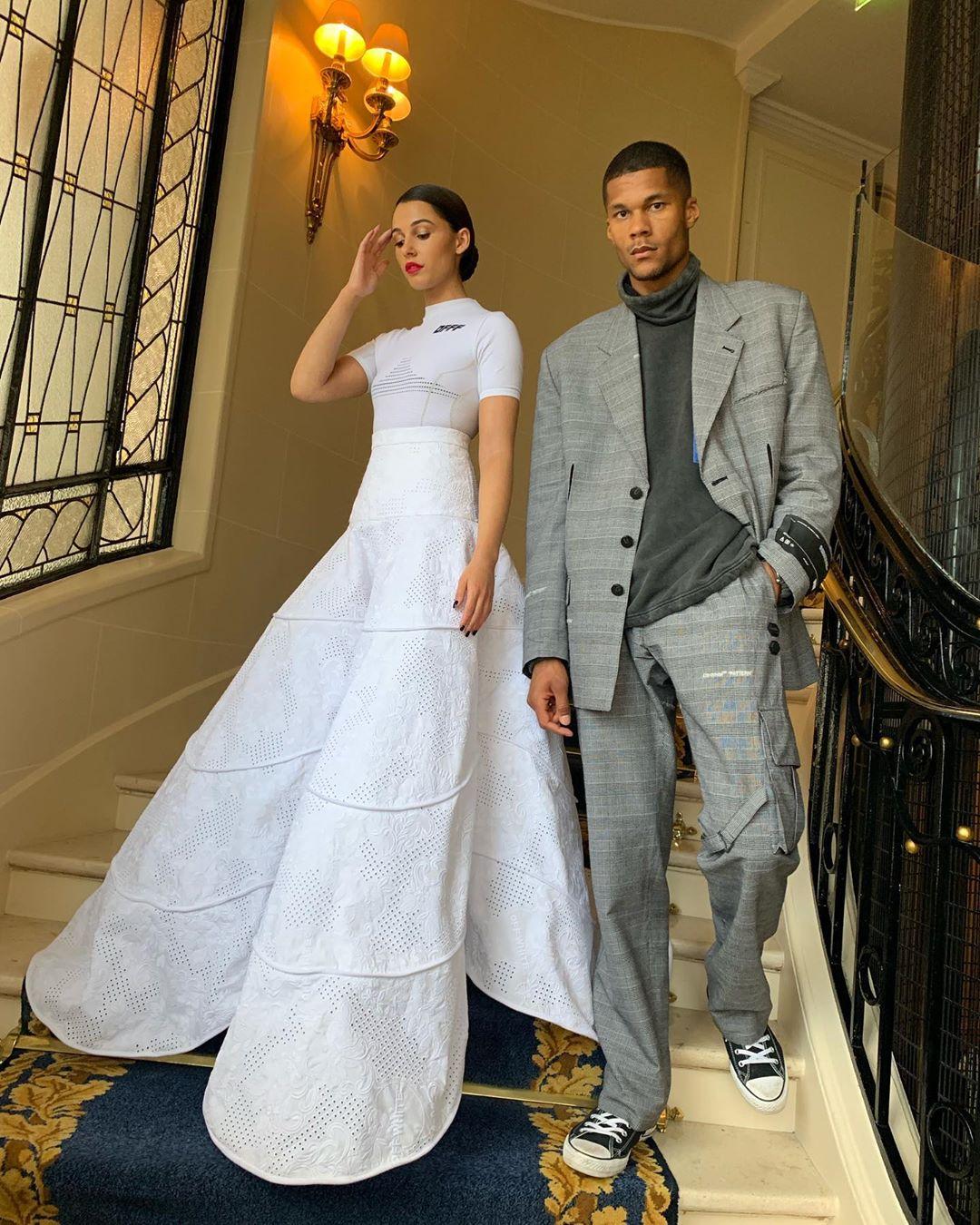 naomi scott và chồng jordan spence