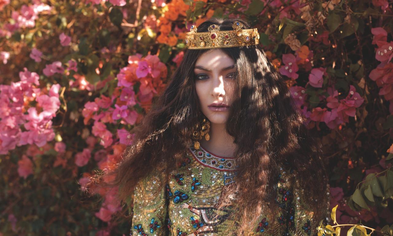nữ ca sĩ cung Thần Nông Lorde
