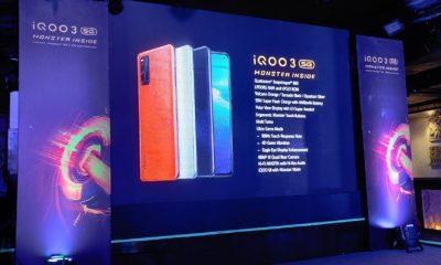 Vivo iQOO 3 5G lộ ảnh thực tế: Snapdragon 865, 4 camera sau, pin 4400mAh, sạc nhanh 55W - Ảnh 1.