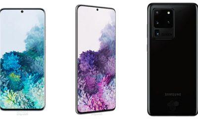 Samsung Galaxy S20 được cho là có ba phiên bản với ba kích cỡ màn hình. Ảnh: Android World.