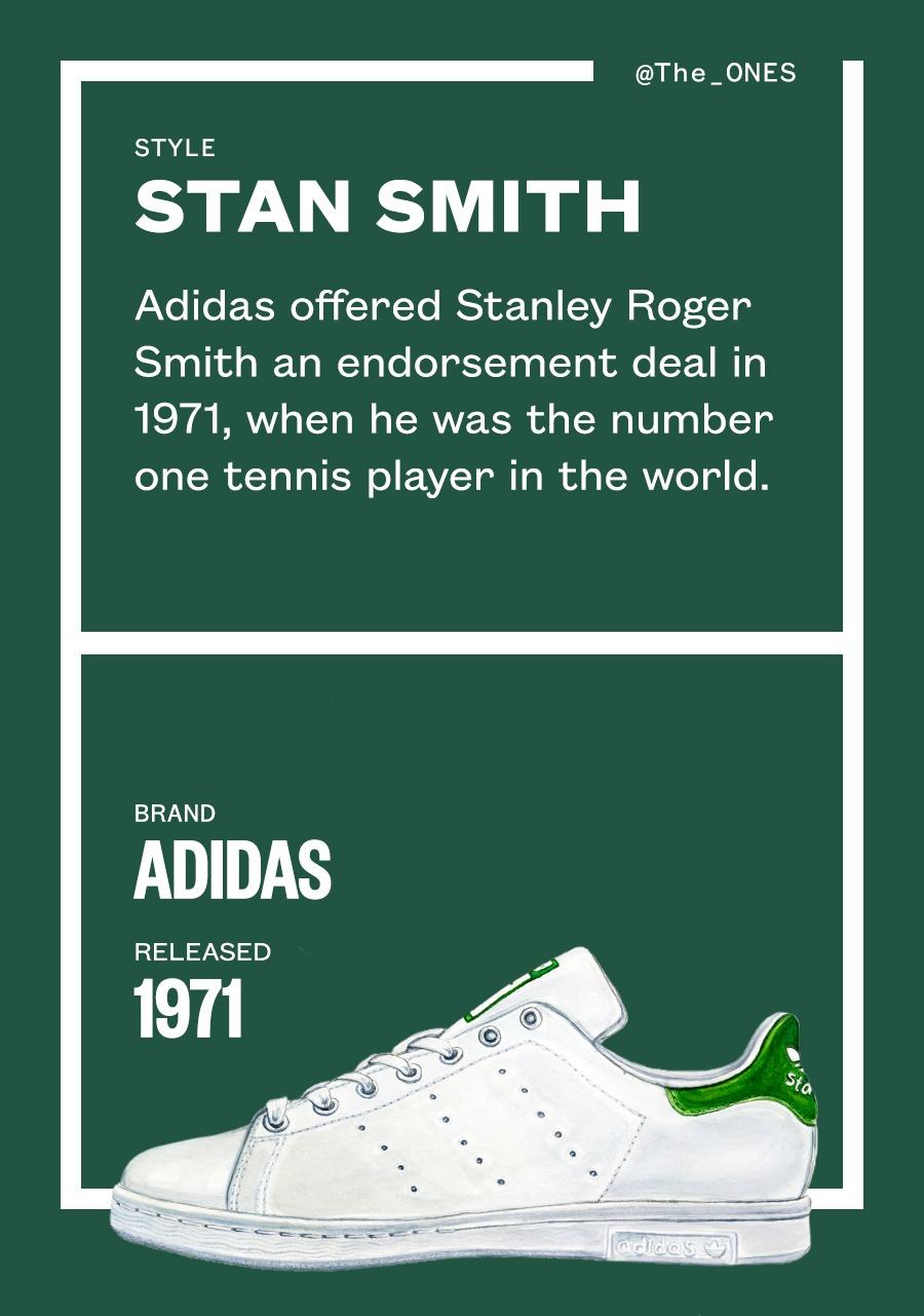 Giay adidas Stan Smith - de vuong truong ton tu thap nien 70 hinh anh 3