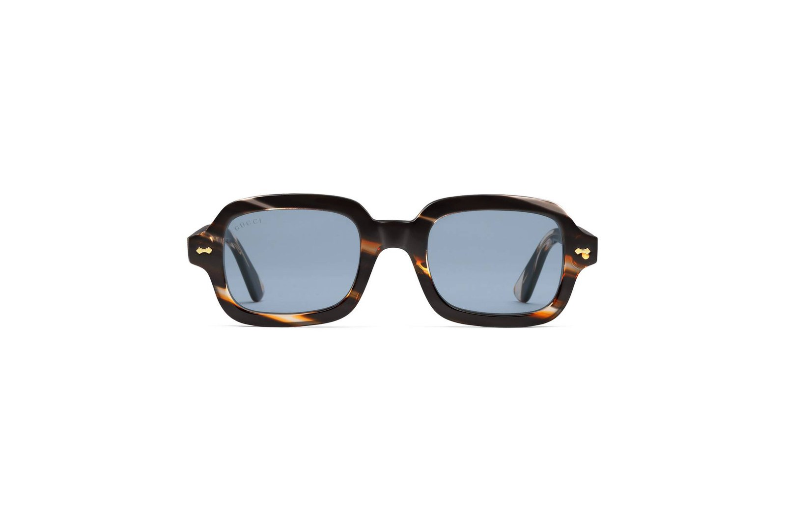 Kính Gucci rectangular-frame acetate glasses