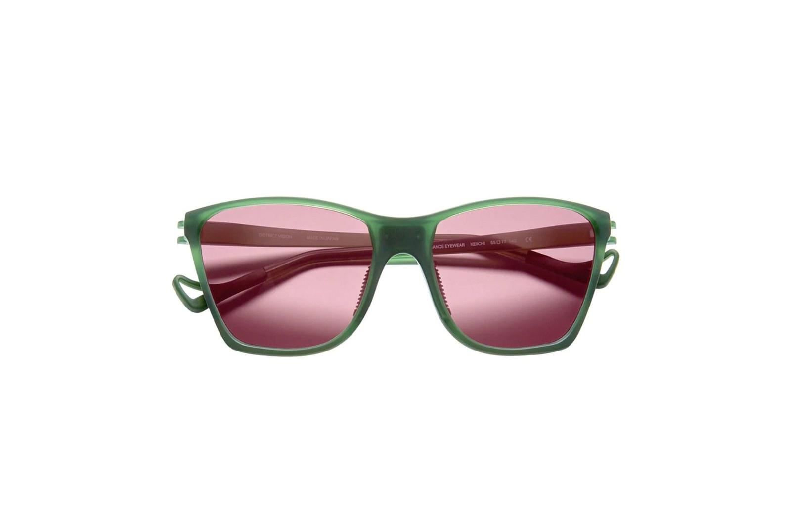 Kính District Vision green Keiichi District Sky G15 sunglasses
