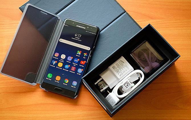 Smartphone Samsung được cho là khá giữ giá trên thị trường máy cũ. Ảnh: T.A