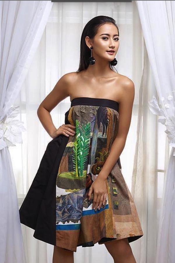 Nhan sắc tân Hoa hậu Hoàn vũ Indonesia