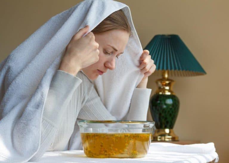 Cải thiện tình trạng sức khỏe bằng xông hơi
