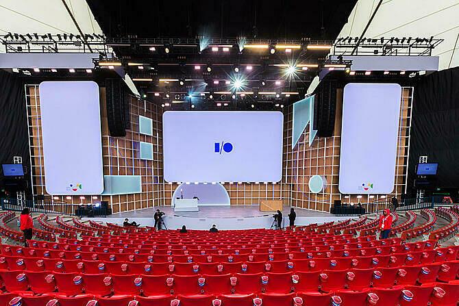 Hội nghị I/O 2020 vào tháng 5 vừa được Google huỷ. Ảnh: cbs