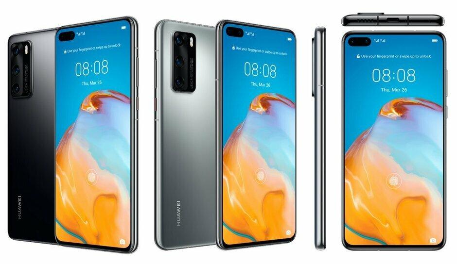 Huawei P40 trông nhỏ gọn hơn với màn hình 6,1 inch.
