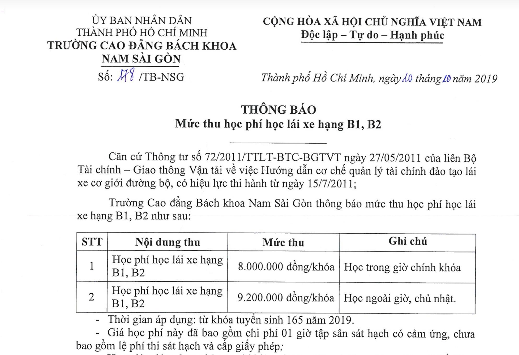 Hoc phi lai xe tang gap 2 lan tai TP.HCM hinh anh 1 Nam_SG_before.jpg