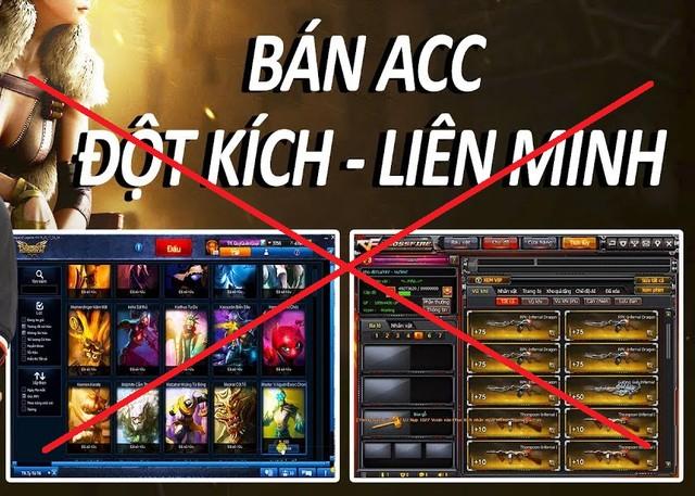 Từ 4/2020, pháp luật cấm người chơi mua bán tài khoản, vật phẩm game - Ảnh 1.
